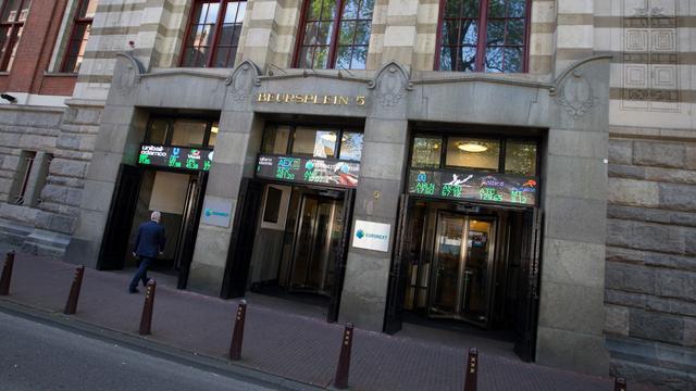 Amsterdamse beurs sluit met winst