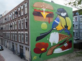 Streetartartiesten uit alle uithoeken komen dit weekend naar havenstad