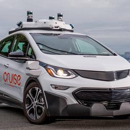 General Motors-dochter Cruise mag autonome auto's zonder bestuurder testen