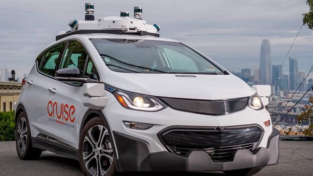 Aantal zelfrijdende auto's General Motors in Californië groeit met de helft