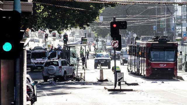 Gewonden na aanslag met auto in Melbourne