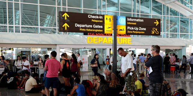 Vliegveld Bali na drie dagen heropend