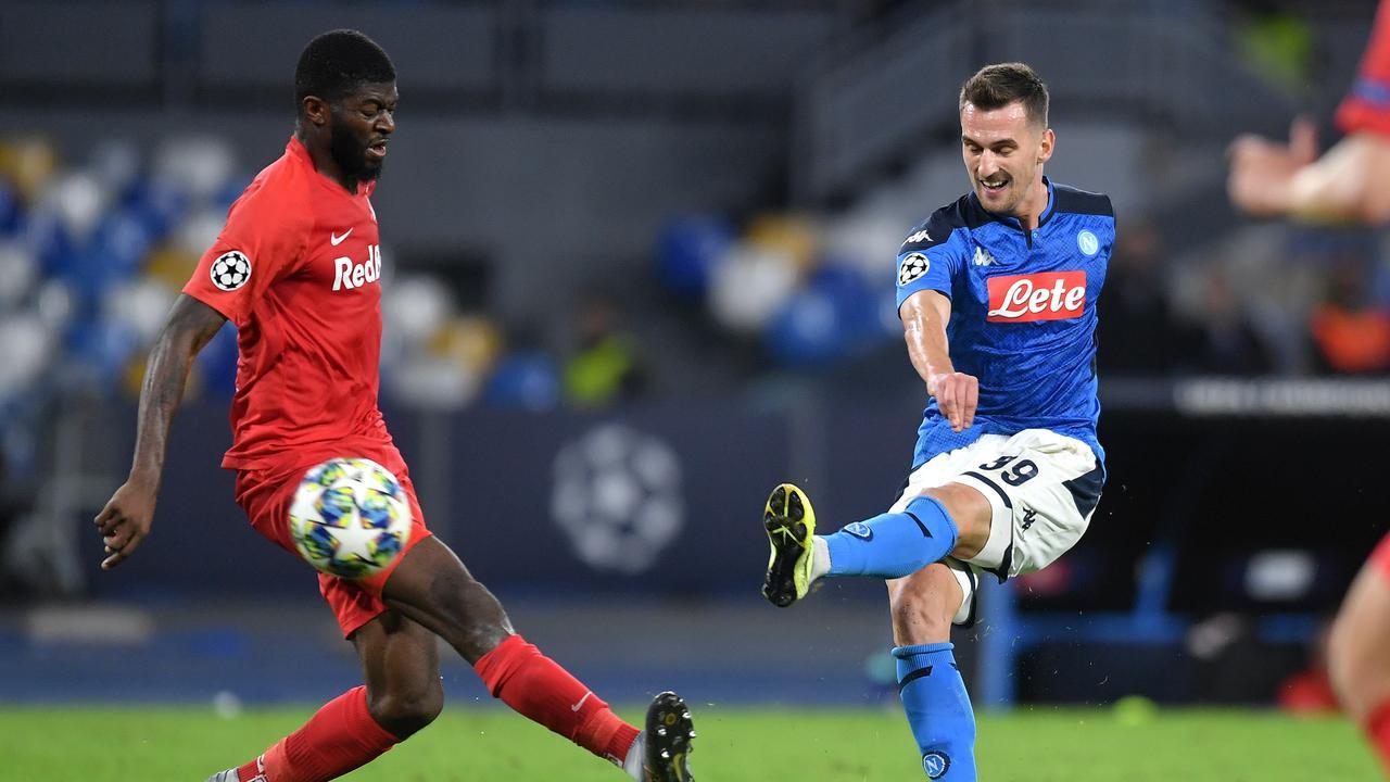 Samenvatting Napoli-Red Bull Salzburg (1-1)