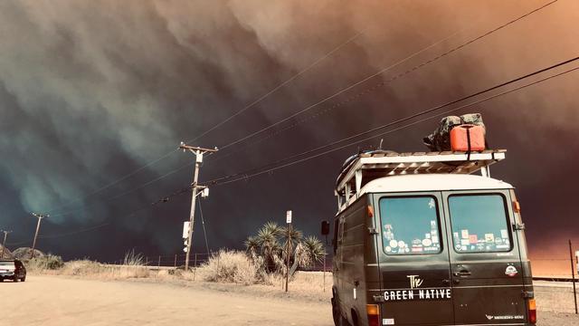Dodental als gevolg van grote branden in Californië gestegen naar 25