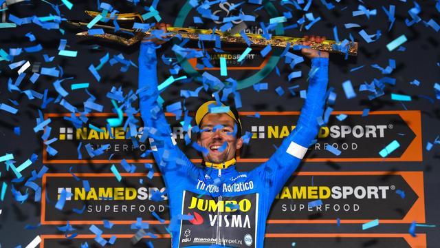 Roglic kan eindzege Tirreno amper geloven na zenuwslopende ontknoping