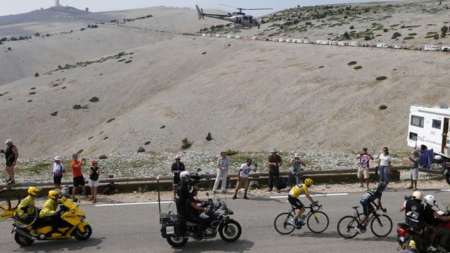 'Mont Ventoux keert in 2016 terug in Tour de France'
