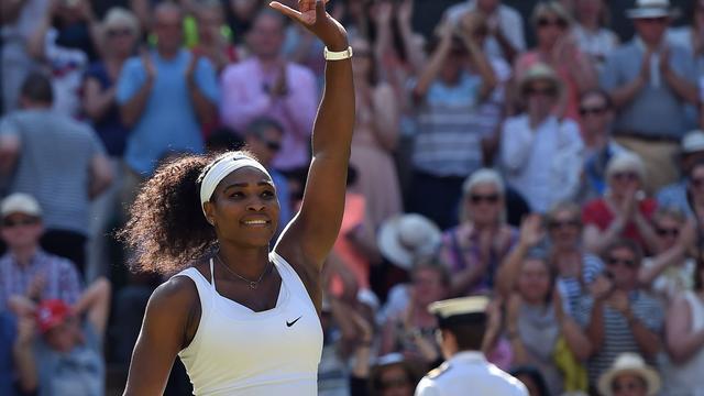 Williams is opgelucht dat ze na jaren weer in Wimbledon-finale staat
