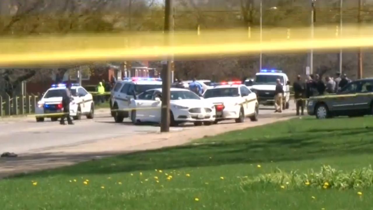 Politie zet straat in Cleveland af na vermoedelijke zelfmoord verdachte Facebookmoord