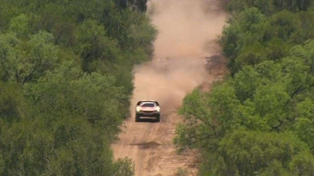 Rallylegende Loeb wint tweede etappe Dakar