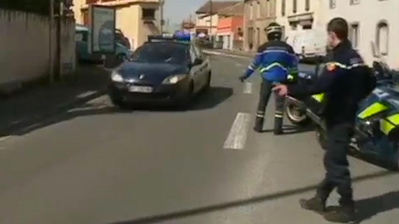 Veel Franse politie op de been na aanslag en gijzeling