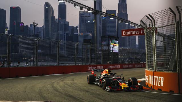 Verstappen vierde in kwalificatie GP Singapore, opnieuw pole voor Leclerc