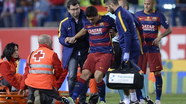 Suarez ondanks blessure met Uruguay naar Copa America