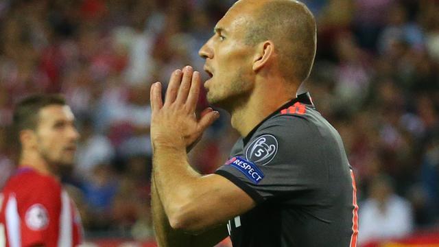 Robben vindt dat Bayern moet leren van killerinstinct Atletico