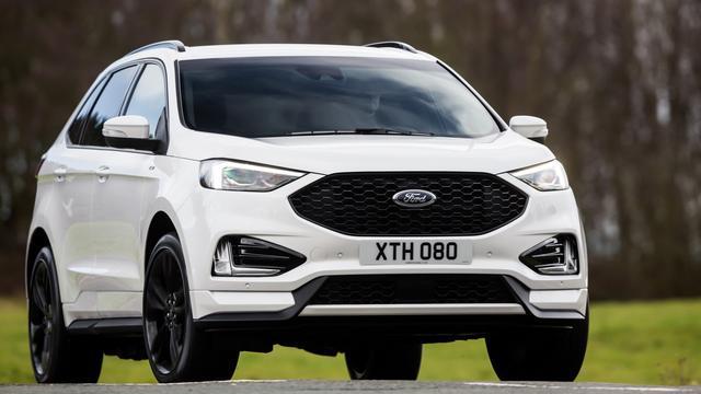 Ford toont Europese versie van gewijzigde Edge SUV