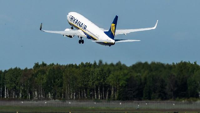 Ryanair breidt aanbod bestemmingen vanuit België uit