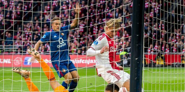 Bijlow vindt dat openingsdoelpunt Ajax afgekeurd had moeten worden
