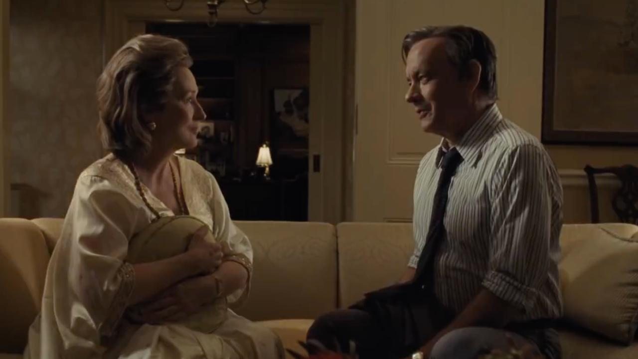 Tom Hanks en Meryl Streep leggen geheimen van regering bloot in trailer The Post