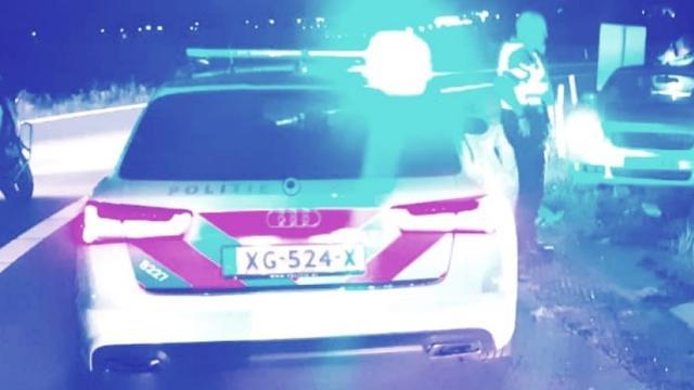 Politie rukt groots uit voor melding over bedreiging in centrum Alphen