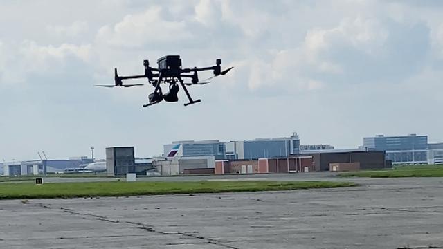 Speciale drones moeten vogels verjagen bij Brussels Airport
