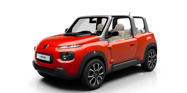 Citroën toont elektrische E-Mehari