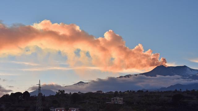 Italië maakt 10 miljoen euro vrij voor hulp na uitbarsting Etna