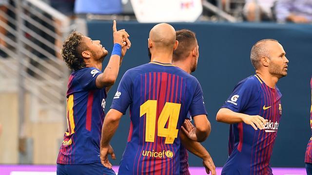 Barcelona wint in oefenduel van Juventus, Tottenham verslaat PSG