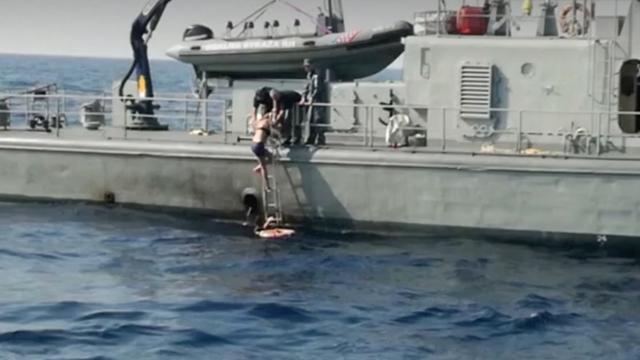 Vrouw tien uur na val van cruiseschip gered uit zee bij Kroatië