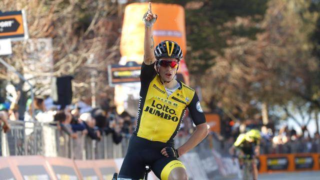 Roglic bezorgt Lotto-Jumbo winst in derde etappe Tirreno-Adriatico