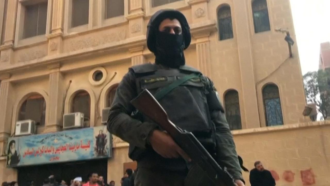 Politie zet omgeving af na schietpartij in koptische kerk Caïro