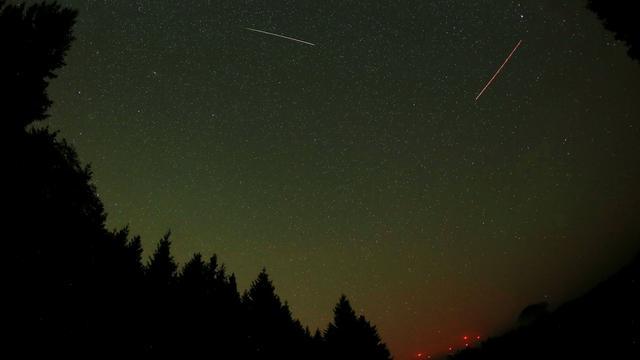 Veel vallende sterren door meteorenzwerm Orioniden vrijdagnacht