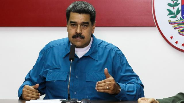 Venezolaanse president Maduro heropent grens met Colombia deels