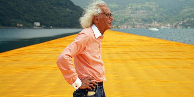Inpakkunstenaar Christo op 84-jarige leeftijd overleden