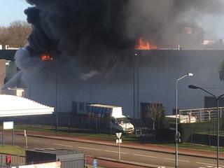 NL Alert vanwege rookontwikkeling bij Technologieweg