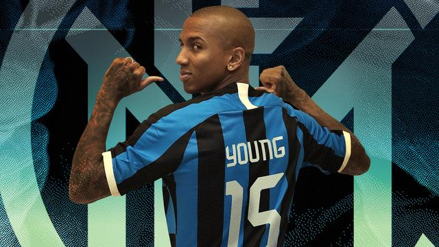 United-captain Young definitief naar Internazionale