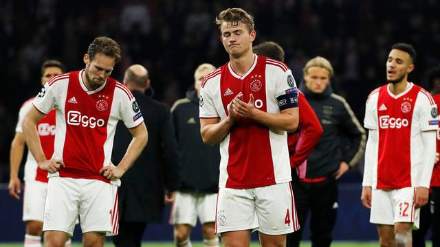 Ajax ziet tegen Tottenham Hotspur CL-finale in slotseconde in rook opgaan