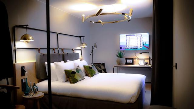 Dit hotel in Amsterdam bootst een termietenheuvel na