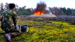 Koninklijke Landmacht vernietigt springstof van V1 nabij Lochem