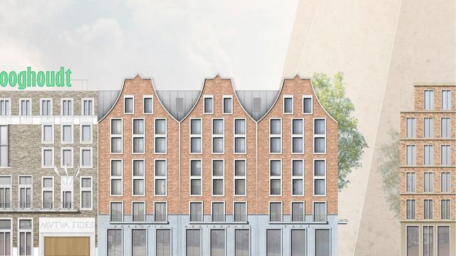 Plannen nieuwe hotel Grote Markt Groningen gepresenteerd