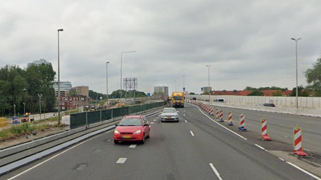 Dit weekend geen afgesloten rijstrook op zuidelijke ringweg Groningen