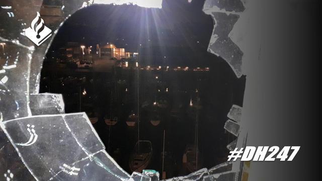 Afgeschoten projectiel beschadigt woning op Hellingweg in Scheveningen