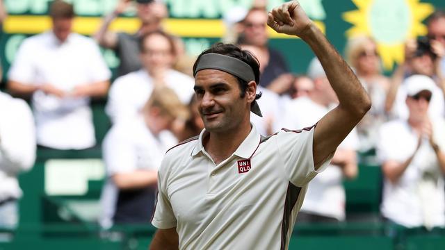 Federer dicht bij tiende titel in Halle, Murray op Queen's naar dubbelfinale