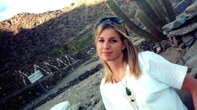 Máxima in 1994. Ze is inmiddels afgestudeerd in economie en werkt op de verkoopafdeling van Boston Securities in Buenos Aires.