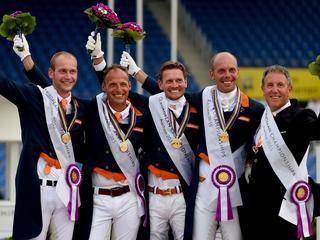 Nederlandse equipe pakt verrassend goud in de landenwedstrijd