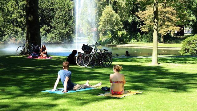 Nog nooit was het in september zo warm in Breda