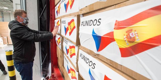 Recordaantal doden in 24 uur als gevolg coronavirus geregistreerd in Spanje