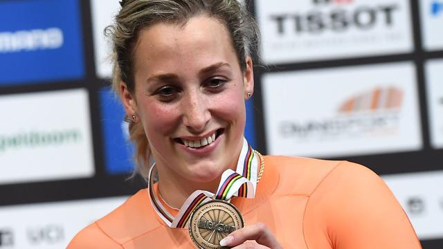 Olympisch kampioene Ligtlee (24) stopt per direct met baanwielrennen