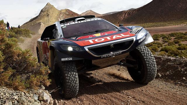 Loeb boekt derde zege in Dakar Rally, Ten Brinke negende