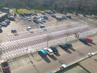 Fietsen op stationsweg per 1 mei verwijderd