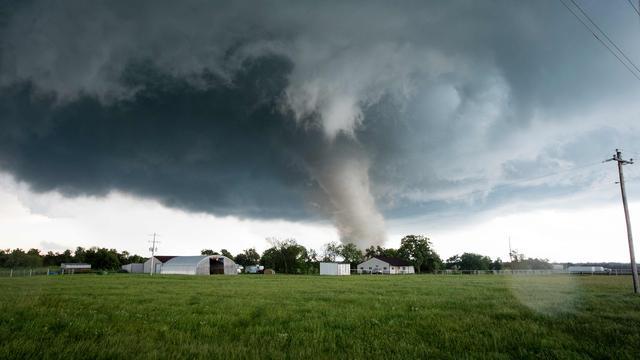 Een dode en 35 gewonden door tornado in Amerikaanse staat Ohio