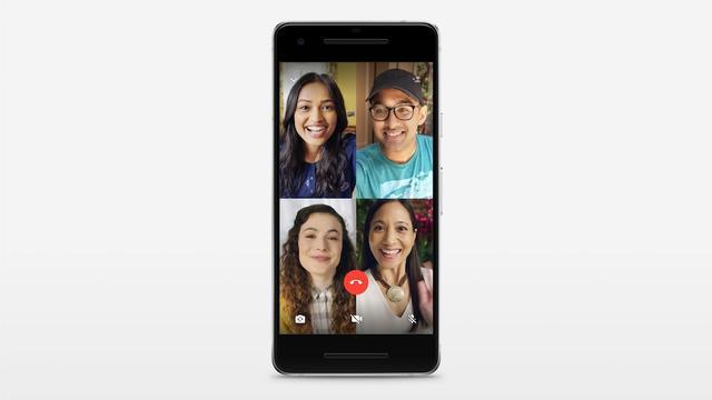 WhatsApp laat gebruikers voortaan groepsbellen met video